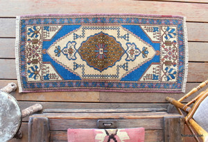 Small Turkish Mat  (#Y5) 54*122cm