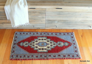 Small Turkish Mat  (#Y8) 51*105cm