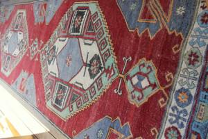 Eastern Turkey carpet runner (#N6) 126*375cm