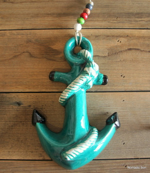 'Firuze' Wall Hanging - Anchor
