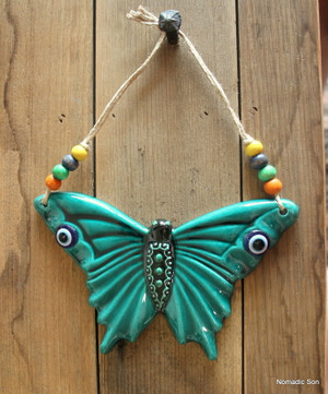 'Firuze' Wall Hanging - Butterfly