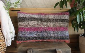 Vintage kilim cover - small rectangle (30*50cm) #SR104