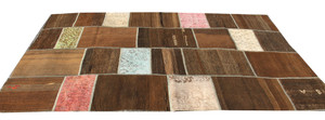 Natural Patchwork Kilim (#180) 193*300cm