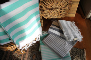 Cotton Pestemal  Turkish Towels - (90*180cm) + tassels