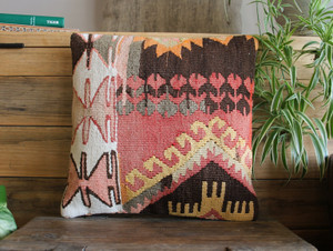 Tiny Kilim Cushion Cover(30*30cm)  #53