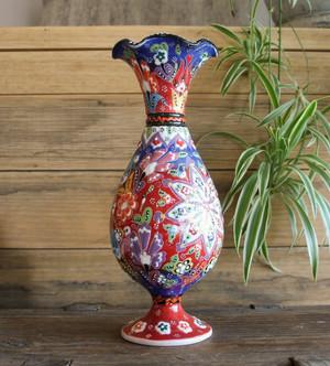 Kabartma Vase - Medium - 25cm 'Askim'