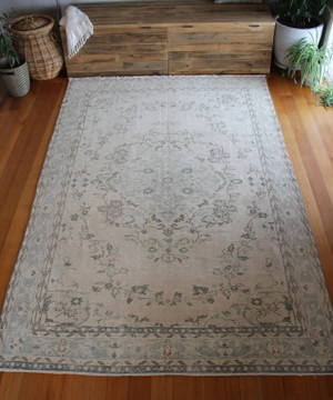 Vintage Turkish Rug (#P18) 188*308cm
