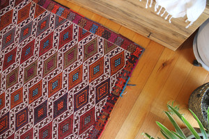 Karapinar Brocaded kilim (#PP91) 162*218cm