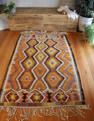 Vintage Tavas kilim (#G155) 140*224cm