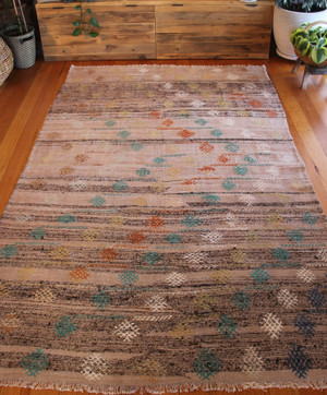 Vintage South West Turkish kilim (#M8) 165*275cm