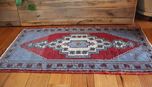 Vintage Small Turkish Mat  (#M245) 54*97cm