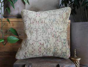 Handwoven Antique  Carpet cover - (40*40cm) #2266