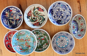 12cm Samur classic bowls. Food safe, hand wash.
