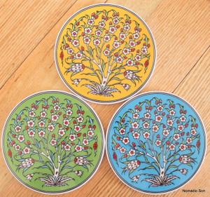Round Trivet - #25 - Tree of Life (3 colour option)