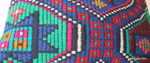 Vintage kilim cover - small rectangle #SR39