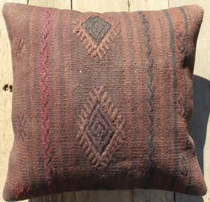 Vintage kilim cover - small (40*40cm) #369