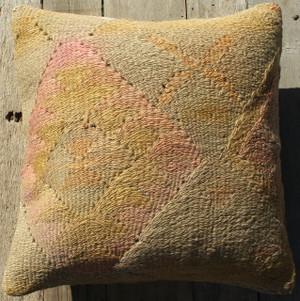 Vintage kilim cover - small (40*40cm) #380