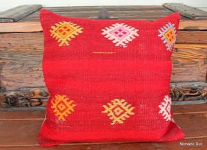 Vintage kilim cover - 45cm #19