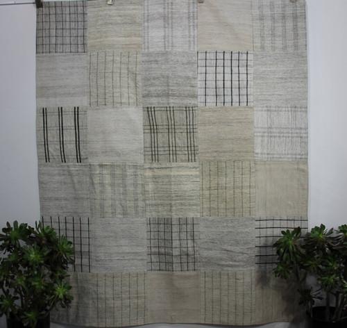 'Hamptons' Patchwork kilim (#G265) 200*237cm