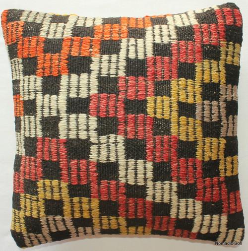 Vintage kilim cover - small #302