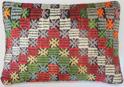 Vintage kilim cover rectangle (35*50cm) #TR13