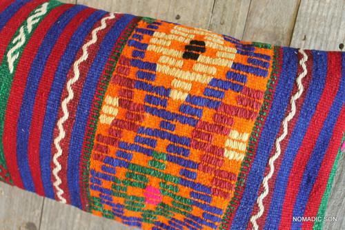 Vintage Kilim cover rectangle (30*70cm) #L379