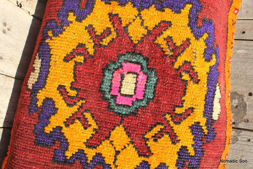 Kars Lumbar carpet cushion (cuval) (#E103) 50*90cm