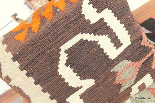 Vintage kilim cover - small (40*40cm) #135