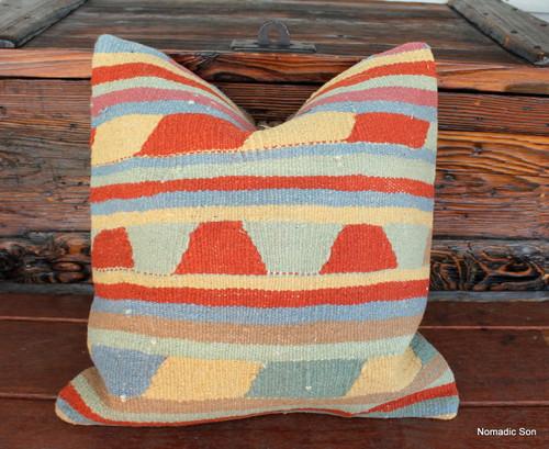 Vintage kilim cover - 45cm #16