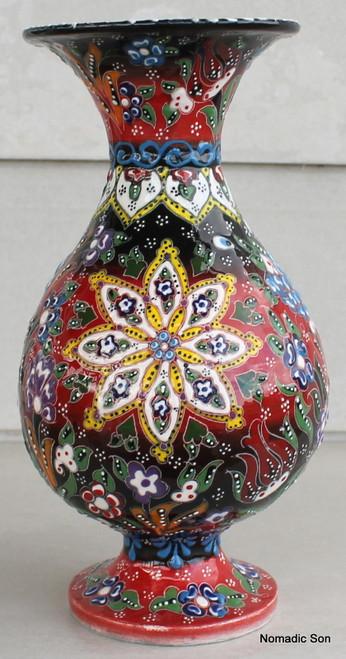 Kabartma Vase - Medium - 25cm 'Lana'