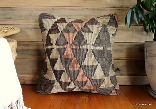 Vintage kilim cover - small (40*40cm) #1181