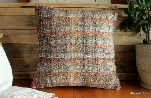Vintage kilim cover - medium (50*50cm) - #FF362