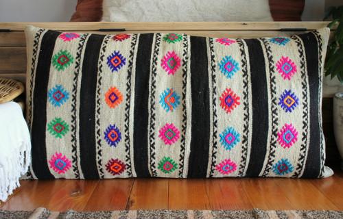 XX Large Vintage kilim cover - 50*100cm #27