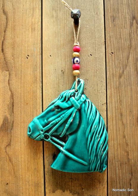 'Firuze' Wall Hanging - Horse