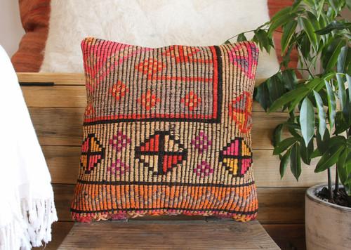 Vintage kilim cover - small (40*40cm) #543