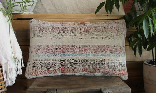 Vintage kilim cover - small rectangle (30*50cm) #SR107