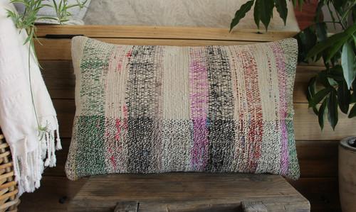 Vintage kilim cover - small rectangle (30*50cm) #SR108