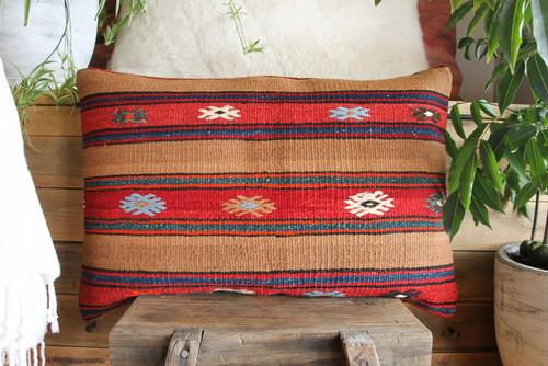 Vintage Kilim cover rectangle (40*60cm) #KR169