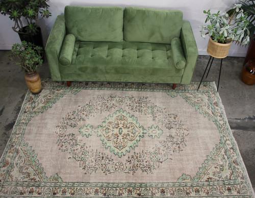 Vintage Faded Carpet (#K20) 174*257cm