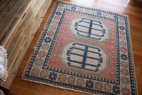 Vintage Kars Turkish Rug (#P11) 151*166cm