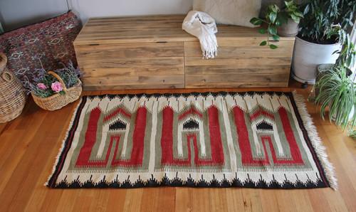 West vintage Turkish kilim (#NX13) 120*200cm