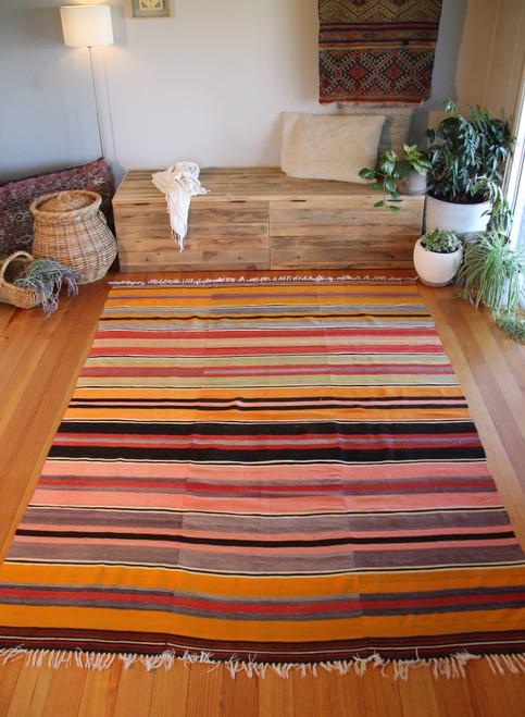 Vintage Tavas kilim (#NX88) 193*274cm