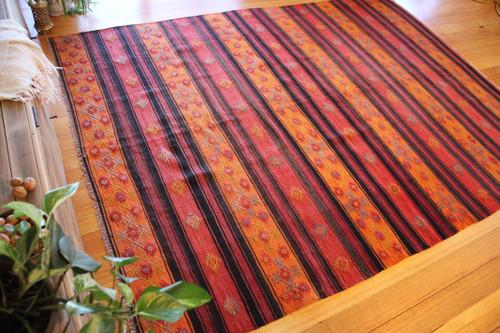 Vintage Denizli kilim (#ET04) 190*263cm