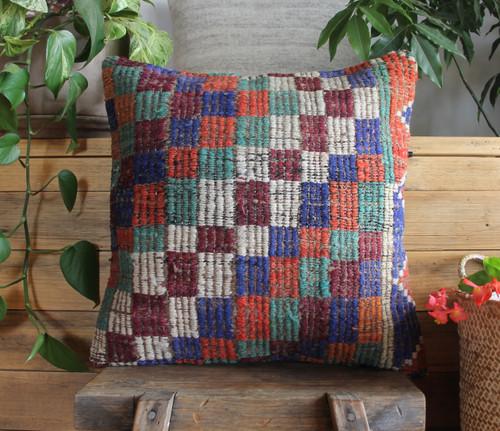 Vintage kilim cover - 45cm #23