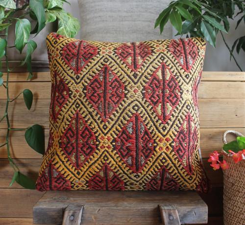 Vintage kilim cover - 45cm #31