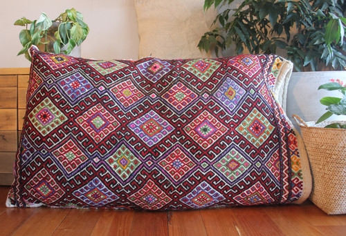 Anatolian Storage Bag/Sitting Pillow (#C128) 63*102cm