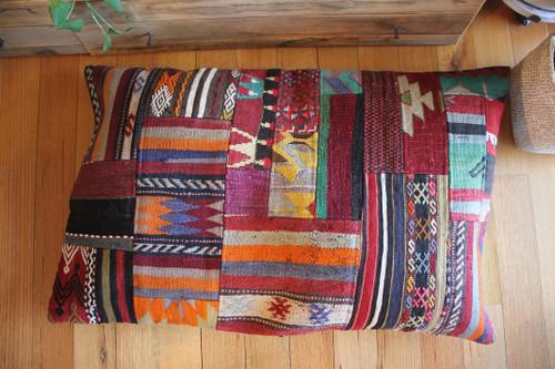 Oversized Patchwork Floor Cushion (65*110cm) #XLP6