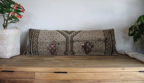 Long Lumbar Vintage carpet cover - 35*100cm #32
