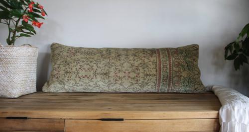 Long Lumbar Vintage carpet cover - 35*100cm #33