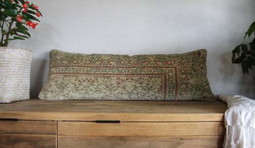 Long Lumbar Vintage carpet cover - 35*100cm #35